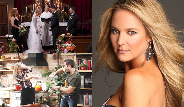 INTERVIEW: Y&R's Sharon Case on marriage, murder, and Halloween mayhem