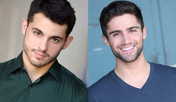 Zach Tinker replaces Max Ehrich as Y&R's Fenmore Baldwin