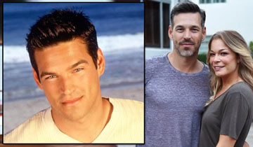 When Y&R's Eddie Cibrian and wife LeAnn Rimes first met, it wasn't exactly their first meeting
