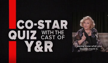 Y&R stars get goofy in on-camera quiz