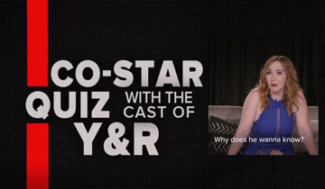 WATCH: Y&R stars crack each other up in co-star quiz