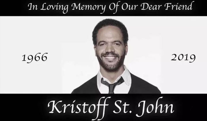 Y&R dedicates a week to honor Kristoff St. John; major stars return
