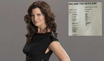 Heather Tom returns to The Young and the Restless