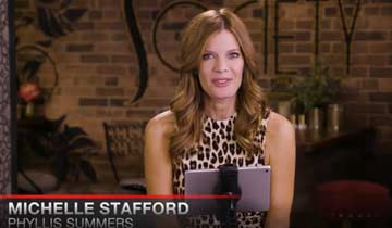 WATCH: Michelle Stafford revisits memorable moments in her Y&R character's past