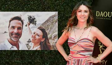 Elizabeth Hendrickson marries Rob Meder in surprise Caribbean ceremony