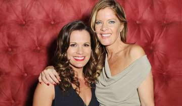 """It's bananas!"" Major drama ahead for Y&R's Melissa Claire Egan and Michelle Stafford"