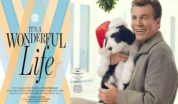 EXCLUSIVE: Two photos you won't see in Y&R star Peter Bergman's gorgeous 30th anniversary pictorial spread