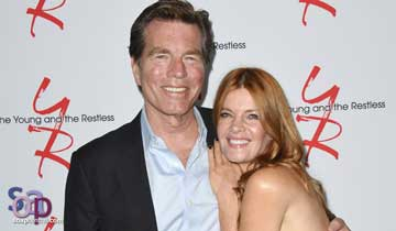 The Young and the Restless' Michelle Stafford honors Peter Bergman with touching tribute