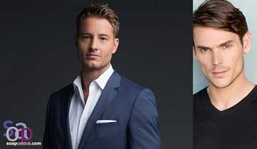 Justin Hartley returns to Y&R for secret soap opera project