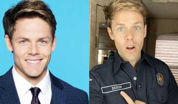 Lachlan Buchanan (ex-Kyle, The Young and the Restless) heats things up on ABC's Station 19