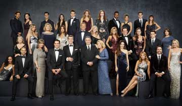 "WATCH: The Young and the Restless cast convenes for ""family reunion"" photo shoot"