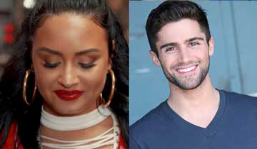 The Young and the Restless' Max Ehrich dating Demi Lovato