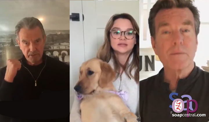 "The Young and the Restless cast creates ""we're in this together"" video"