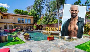 Check out Y&R star Shemar Moore's Spanish-style villa