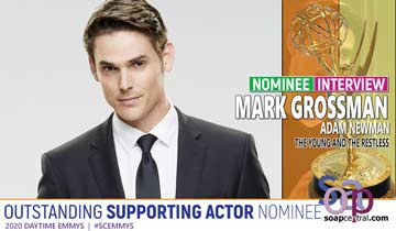INTERVIEW: The Young and the Restless' Mark Grossman reacts to his Daytime Emmy nomination