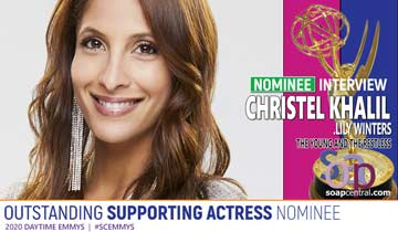 INTERVIEW: The Young and the Restless' Christel Khalil reacts to her Emmy nomination