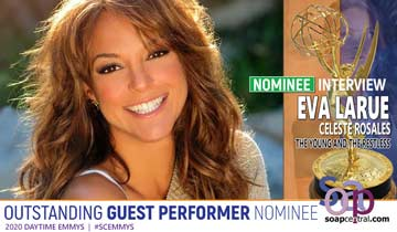 INTERVIEW: The Young and the Restless' Eva LaRue on her Emmy nomination, All My Children memories, and more