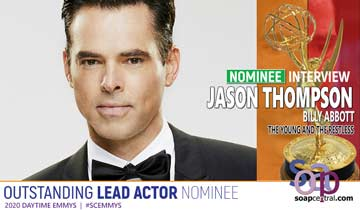 The Young and the Restless' Jason Thompson reacts to his Emmy nomination, shares love of the soap genre
