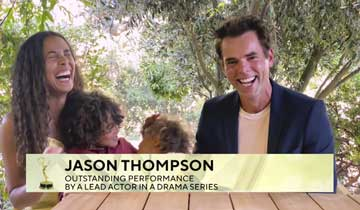 INTERVIEW: The Young and the Restless' Jason Thompson on his Emmy win, super cute acceptance speech, and how fans can create change during Black Lives Matter