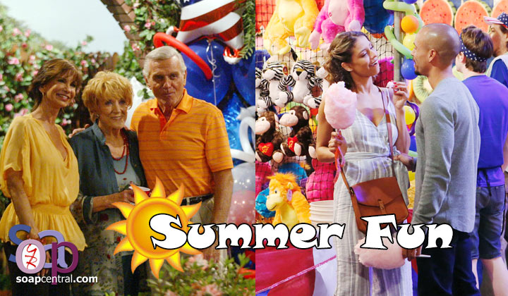 Which of last week's Y&R summertime fun throwback episodes was your favorite and why?