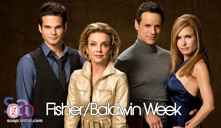 The Baldwin and Fisher families take center stage on The Young and the Restless