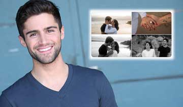 Y&R's Max Ehrich and Demi Lovato split