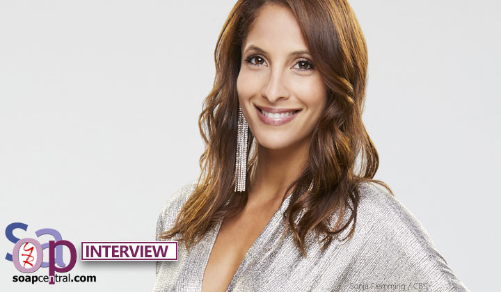 INTERVIEW: Christel Khalil chats possible Lily and Billy romance on The Young and the Restless