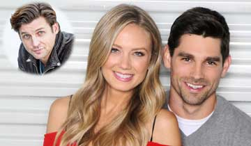 Y&R makes COVID-related recast, recruits real-life hubby of Melissa Ordway