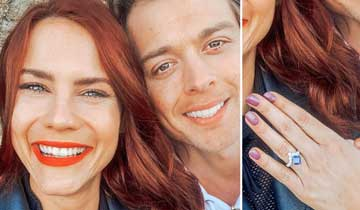 Courtney Hope and Chad Duell are engaged!