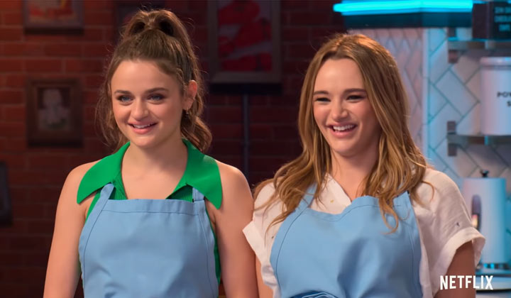 The Young and the Restless' Hunter King to appear on Netflix's Nailed It: Double Trouble with her sister, Joey King