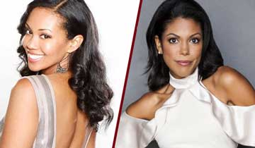The Bold and the Beautiful's Karla Mosley takes over for The Young and the Restless' Mishael Morgan