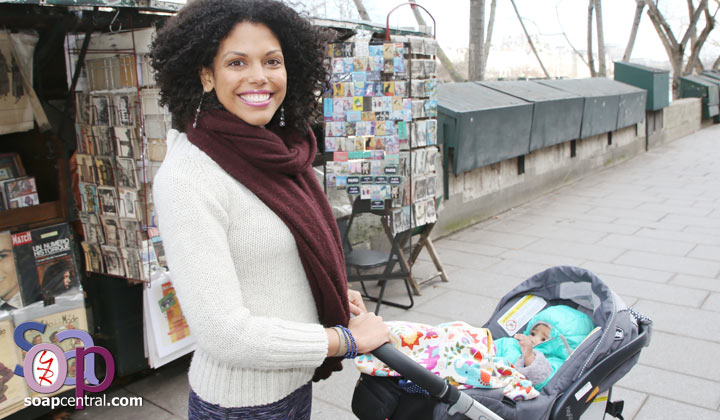 The Bold and the Beautiful alum Karla Mosley is pregnant