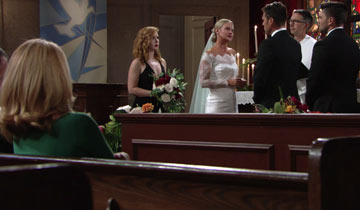 Nick and Sharon's wedding gives Y&R a ratings boost