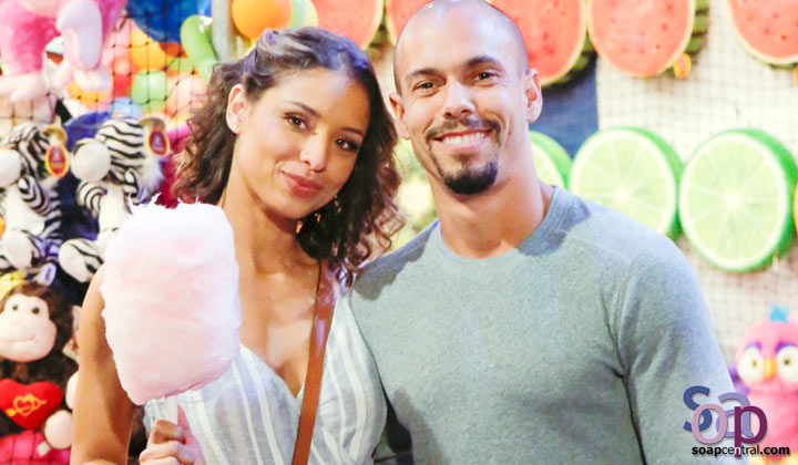 Brytni Sarpy talks parenthood for Y&R's Devon and Elena