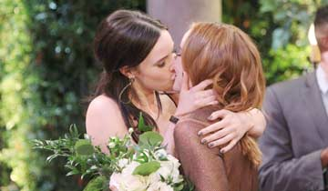 ''Teriah'' kiss named one of television's best LGBTQ moments of the year