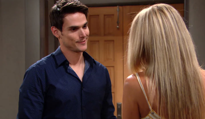 Sharon is blindsided by Adam's shocking news