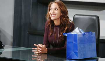 "Christel Khalil on her ""really exciting"" return to The Young and the Restless"