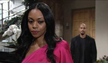 Y&R's Mishael Morgan on the Hilary/Amanda twin reveal