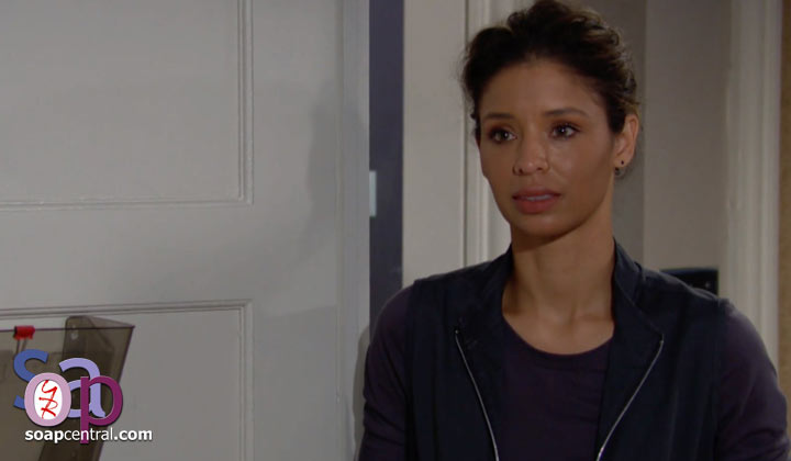 Do you think that Elena has any reason to worry now that Devon is remembering his life with Hilary?