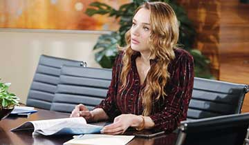 The Young and the Restless' Hunter King reveals Summer may actually be ''a little bit scared'' of Sally Spectra