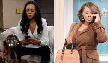 Y&R's Ptosha Storey reveals the real reason why Naya wants Amanda's help