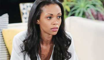 "Y&R's Mishael Morgan ""blessed and grateful"" after vision-saving emergency surgery"
