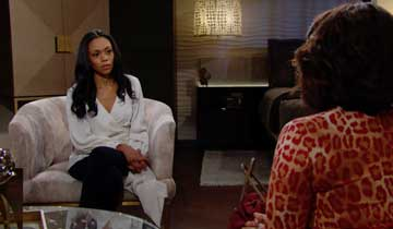 The Young and the Restless' Mishael Morgan: It's an honor to play Amanda's heart wrenching adoption storyline